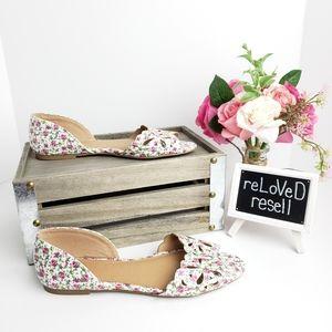 SO Shoes - Floral Flats